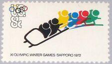 UNITED STATES USA 1972 1075 1461 Olympics Sapporo Varity Abart shifted print MNH