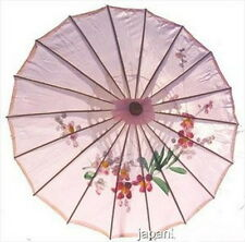 Asian Japanese Chinese Umbrella Parasol 32in Pink 156-1 S-2160 AU