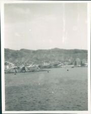 Photo  Gibraltar View from HMS Ark Royal 4.5 x 3.5 inches p4