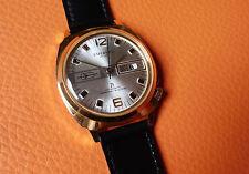 Alte Herren ⌚ ESPERANTO Datum vergoldet Mechanisch Vintage Handaufzug Uhr TOP