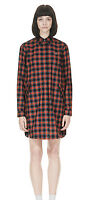 Fred Perry Tartan Parka Shirt Dress D1104 - Womens - UK 10