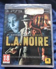 L.A. NOIRE Videojuego ps3