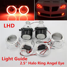 "2.5"" Halo Ring Angel Eye LHD/RHD Bi-Xenon HID Projector Headlight Conversion Kit"
