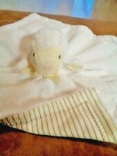 Blanket Lamb Thumbie Push Stripes Baby Security Pottery Barn North American Bear
