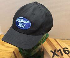 NICE FOX TV AMERICAN IDOL YOUTH BLACK HAT STRAPBACK ADJUSTABLE VGC X16