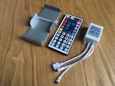 44 Key IR Remote Controller DC 12V RGB LED Strip Lights with Aluminium Holder