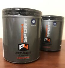 Proven4 Pre-Game Formula/Pre Workout w/ Creatine, Beta-Alanine, Energy... 2PACK!