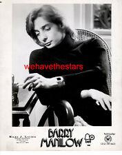 VINTAGE Barry Manilow 70s POP SINGER Publicity Portrait