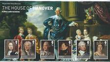 GB - PRESENTATION PACKS - 2011 - HOUSE OF HANOVER inc mini sheet