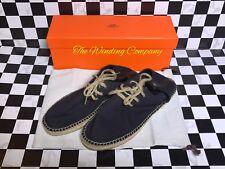 Hermes Espadrilles Men's Summer Shoes Canvas Absolutely Gorgeous. Size 43/10