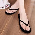 Women Thongs Flat Beaded Flip Flops Elastic Sandals Summer Roman Beach Shoes New