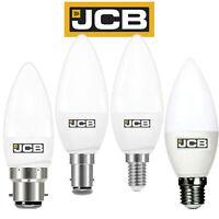 JCB LED Candle Bulb 3w =25w 6w = 40w BC SBC ES SES 3000k/ 6500K LED Bulb