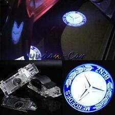 2x Laser LED Door Ghost Shadow Projector Lights For Mercedes-Benz CLK W208 W209