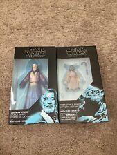 star wars black series 6 inch force spirit Obi-wan Kenobi&Yoda Wow 🤩 Nice
