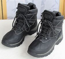 8 | Coleman Mens Black Pebbled Winter Hiking Camping Snow Boots Shoes