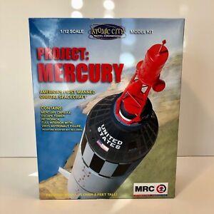 MRC Atomic City 1:12 Project Mercury Capsule Spacecraft Model Kit #0062001