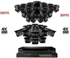 NEW Lorex 32 Channel 4K NVR 8TB + 24  8MP IP Cameras Nocturnal 30 FPS Motorized