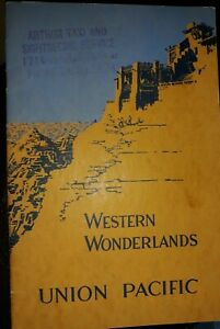 "Vintage Union Pacific ""Western Wonderlands"" Pictorial Guide 1929"
