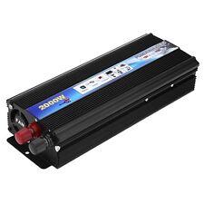 New 2000W Car Auto Power Inverter Converter Electronic DC 12V to AC 110V 60Hz