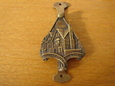 More details for solid brass doorknocker william shakespeare