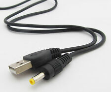 1pc 80cm USB Male to 4.0 x 1.7mm 4.0x1.7 Male Power Charge Cable for Sony PSP