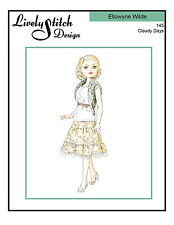 Cloudy Days / sewing and knitting pattern for the Ellowyne Wilde doll by Tonner