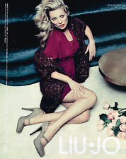 PUBLICITE ADVERTISING 094  2012  LIU-JO   haute couture KATE MOSS
