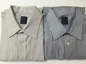 Joseph & Feiss Stripe Long Sleeves Dress Shirt 16 1/2/32/33 Lot Of 2 NWOT