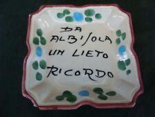 Vaso ceramica albisola gognabros