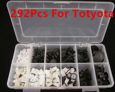 292 PCS FENDER DOOR HOOD BUMPER TRIM CLIP BODY RETAINER ASSORTMENT FOR TOYOTA