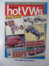Hot V Ws & dune buggies  October 1987 More  Treasure Hunting In Guatemala