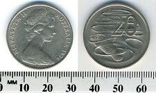 Australia 1974 - 20 Cents Copper-Nickel Coin - Platypus - Queen Elizabeth II -#1