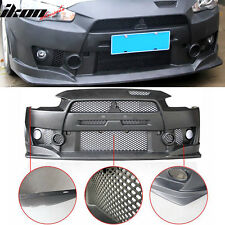 08-15 Lancer FQ FQ440 Style Front Bumper Cover Conversion - PP Polypropylene
