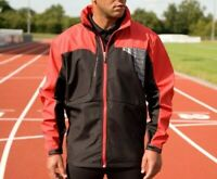 Result Mens run Spiro Softshell Waterproof Windproof 3 Layer Jacket RP £52 S175M