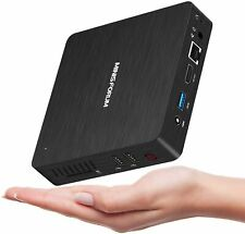 Mini PC Quad-Core  Fanless HD Intel Atom x5-Z8350 4GB DDR3/64GB eMMC HDMI&VGA