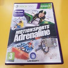 Motionsports Adrenaline Kinect GIOCO XBOX 360 VERSIONE ITALIANA