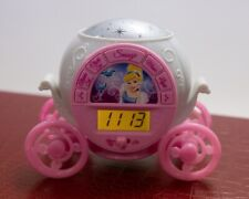 Cinderella Stage Coach Princess Clock With Alarm - Lights-Ceiling Stars - Music