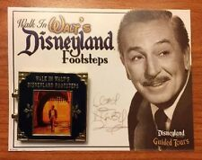 RARE DISNEYLAND EXCLUSIVE Walk in Walt's Disneyland Footsteps Tour Pin Speech