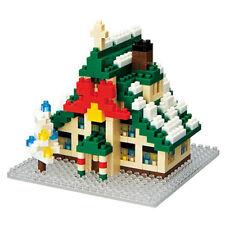 Nanoblock: Weihnachtshaus