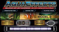 Zoo Med AquaEffects LED model 2 Aquarium Light / Built in Lightning and Sound