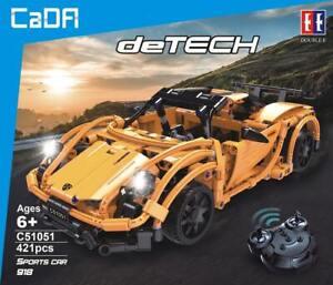 CaDA C51051W Racing Car RC Klemmbausteine Sportwagen Hybrid Auto Modell NEU