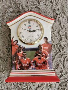Liverpool FC Danbury Mint Ceramic  Clock