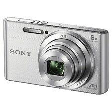 Sony Cybershot DSCW830 20.1MP Digital Camera with Camera Case and 8GB Memory Car