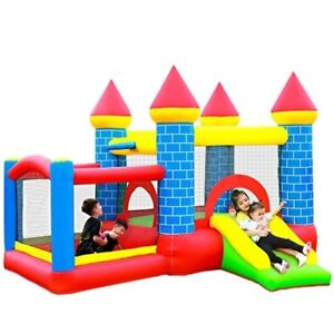 Bouncing House Bounce for Kids Toddler Castle Small with Blower Indoor Outdoor