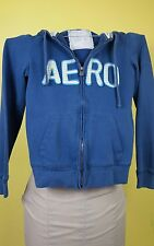 aeropostale womans/girls hooded sweat jacket blue, Small. PRICED TO SELL