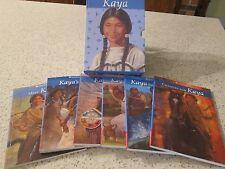 "American Girl ""KAYA:"" Books Collection set of 6 with Game"