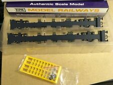DAPOL FEA Spine Wagons GBRF 640601 & 640602 Twin Pack B740D OO Gauge