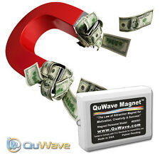 QuWave Law of Attraction Magnet QWM1W - Improves Success Happiness Wealth Health