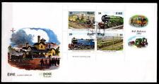 150 Jahre irische Eisenbahnen. FDC+Beschreibung. Irland 1984