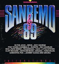 33 giri SANREMO '89 - Elton John, Boy George, Ray Charles, Europe, Ivana Spagna